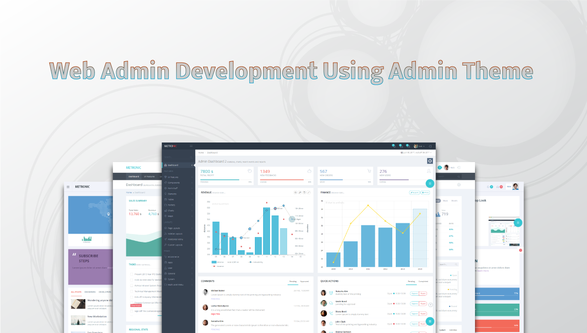 Save Cost and Efforts by Doing Web Admin Development Using Admin Theme