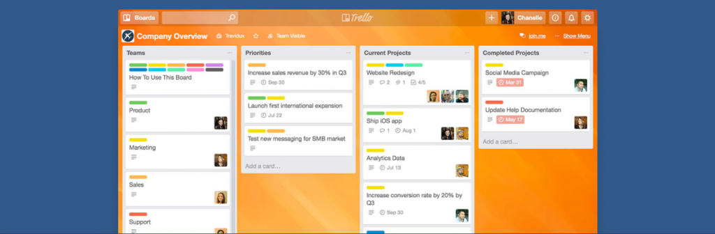 Trello - Single Page Application