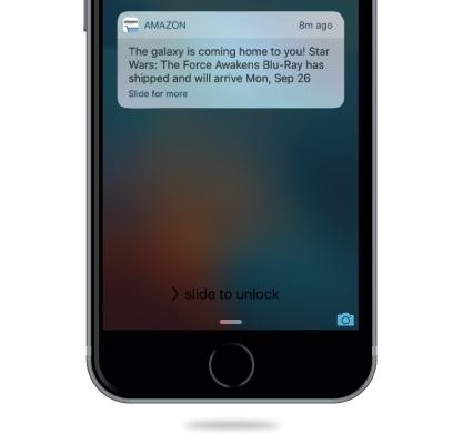 amazon push notification ideas
