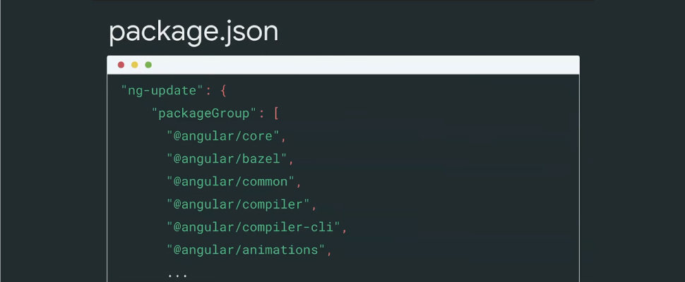 package.json angularjs