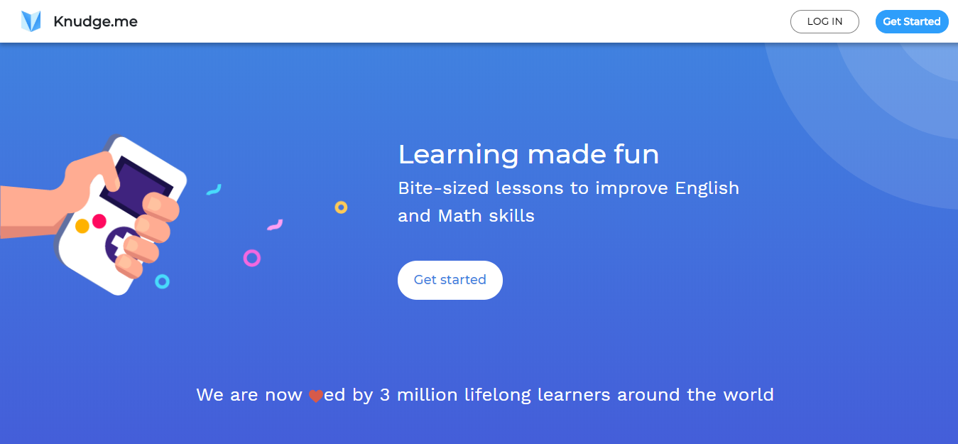Knudge-me-gamified learning