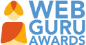 Webguru award image- secelected for best webdesign work